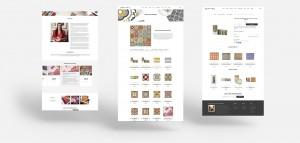 Stephanie Borg Web design